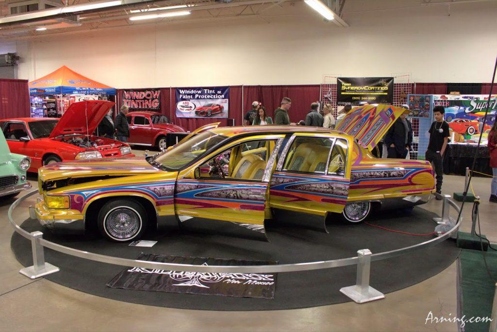 Supernationals Custom Auto Show at the Fair Grounds in Albuquerque