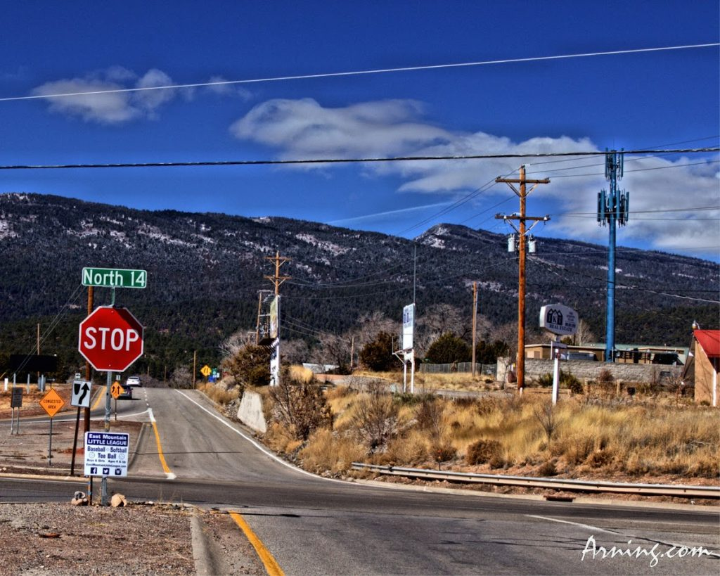 Road to the Sandia Crest