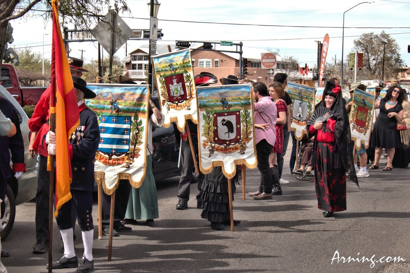 312th Founder's Day Parade in Albuquerque