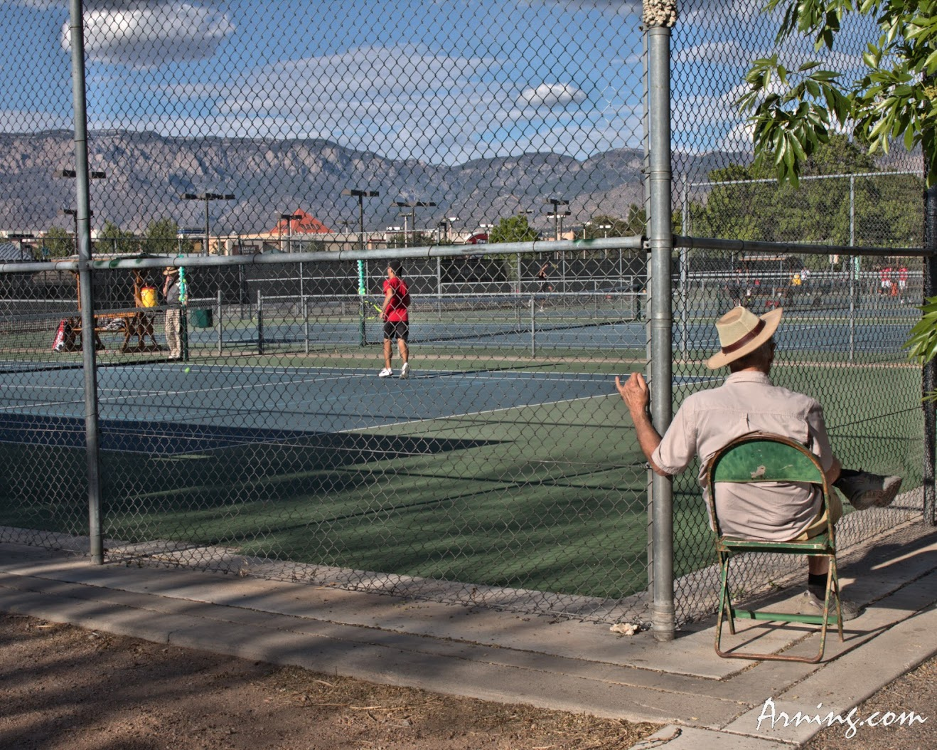 state high school tennis tournament