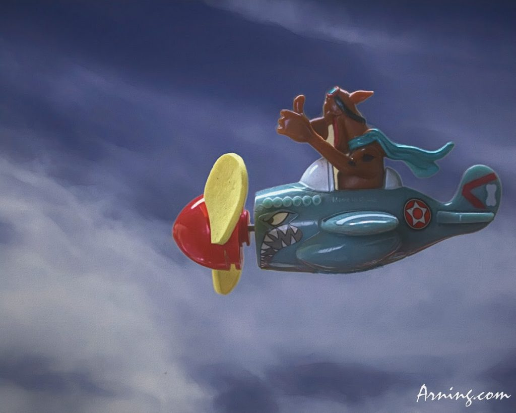 Flying Scooby-Doo