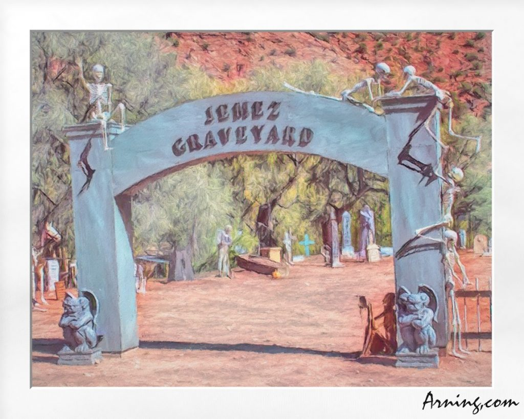 Jemez Graveyard