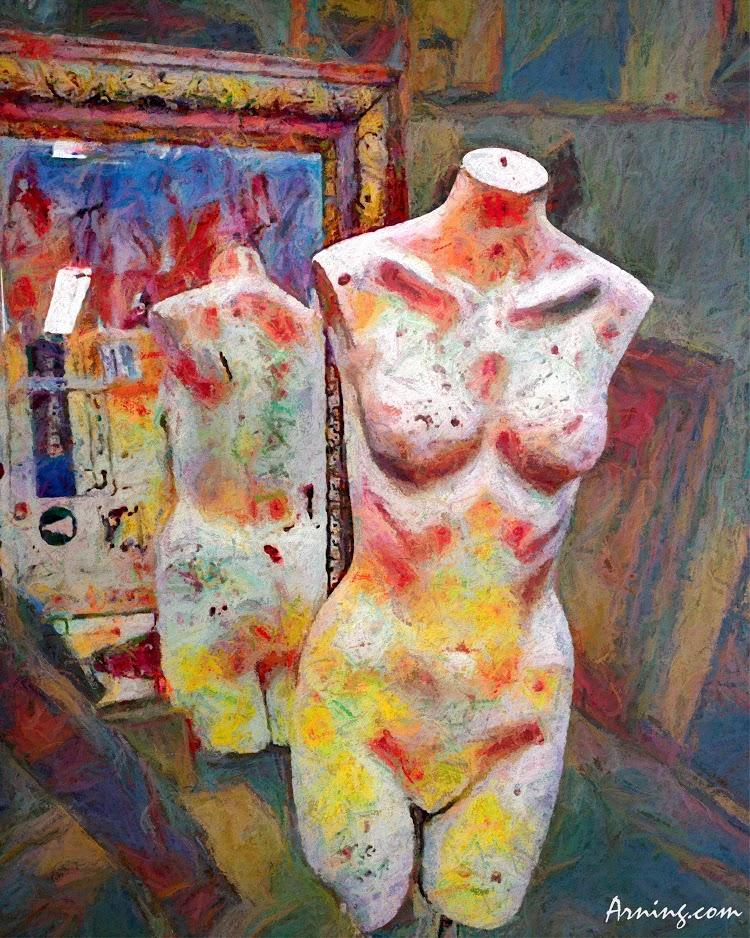 mannequin mirror