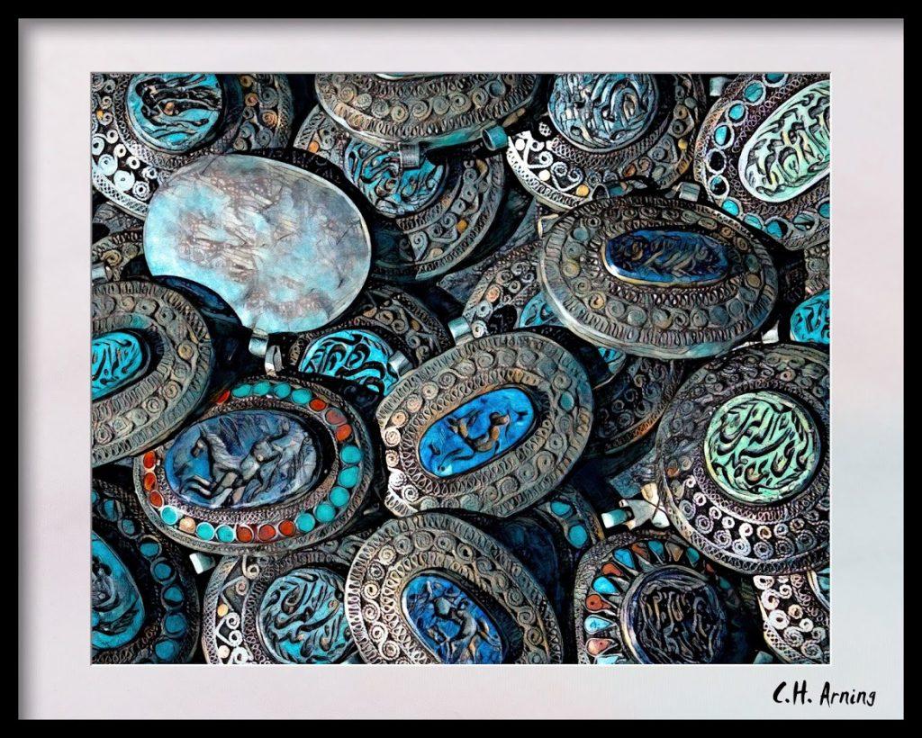 Concho belt pieces