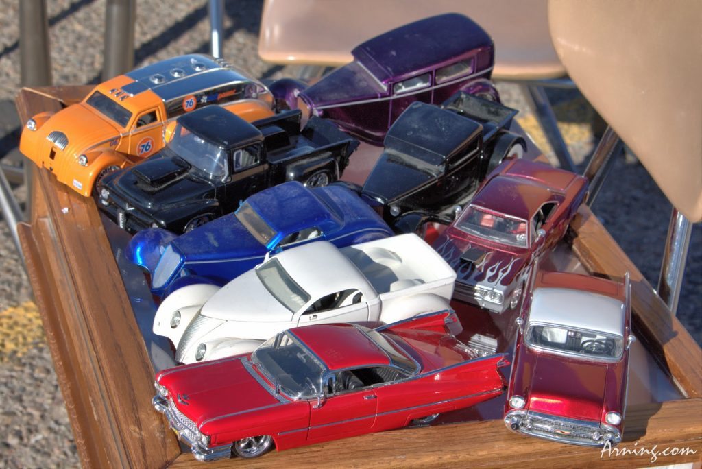 Cars for sale at the Flea Market