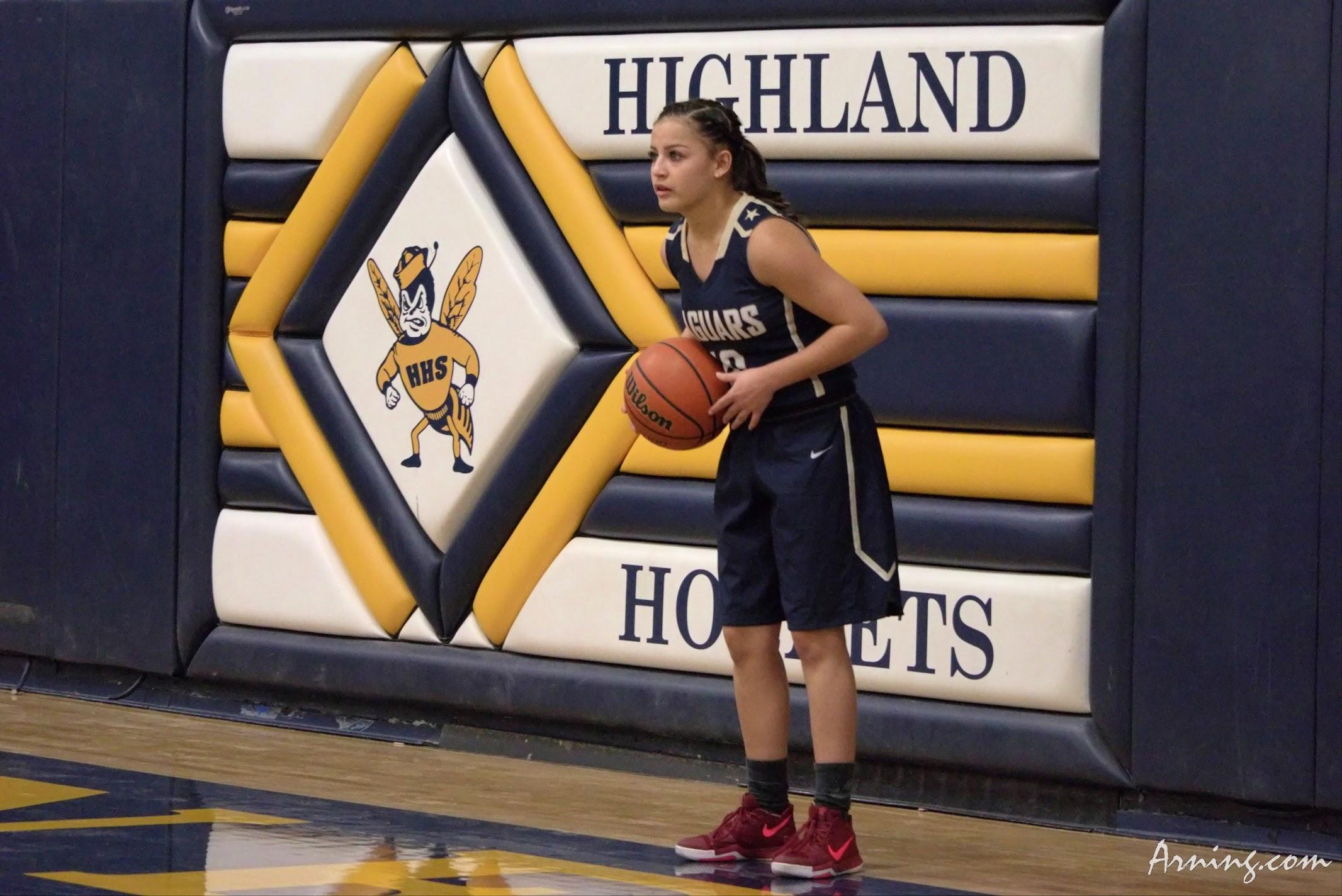 Highland High School Basketball Game