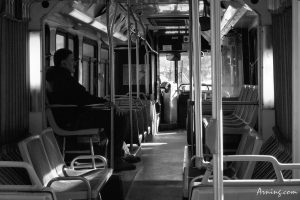 Alone on a bus