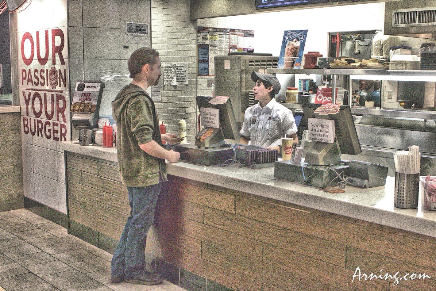 Food court at Coronado Center