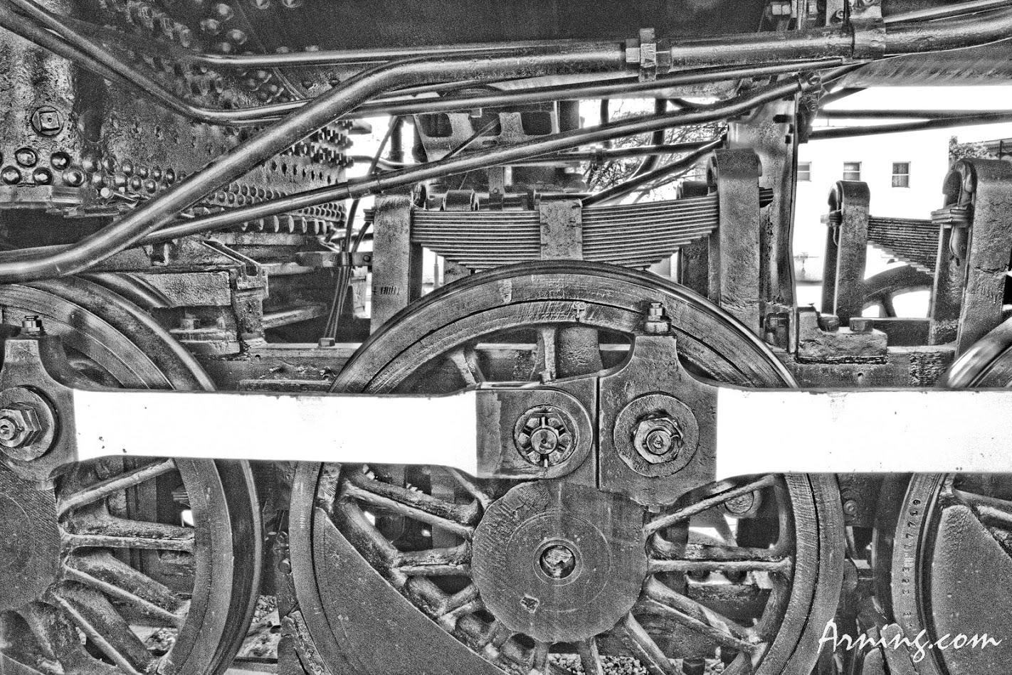 Locomotive Number 940 in Bartlesville OK