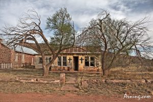House next to the Church in Cuervo NM