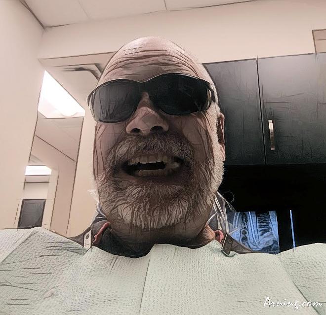 root canal selfie
