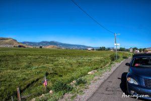 Just outside Monte Vista Colorado