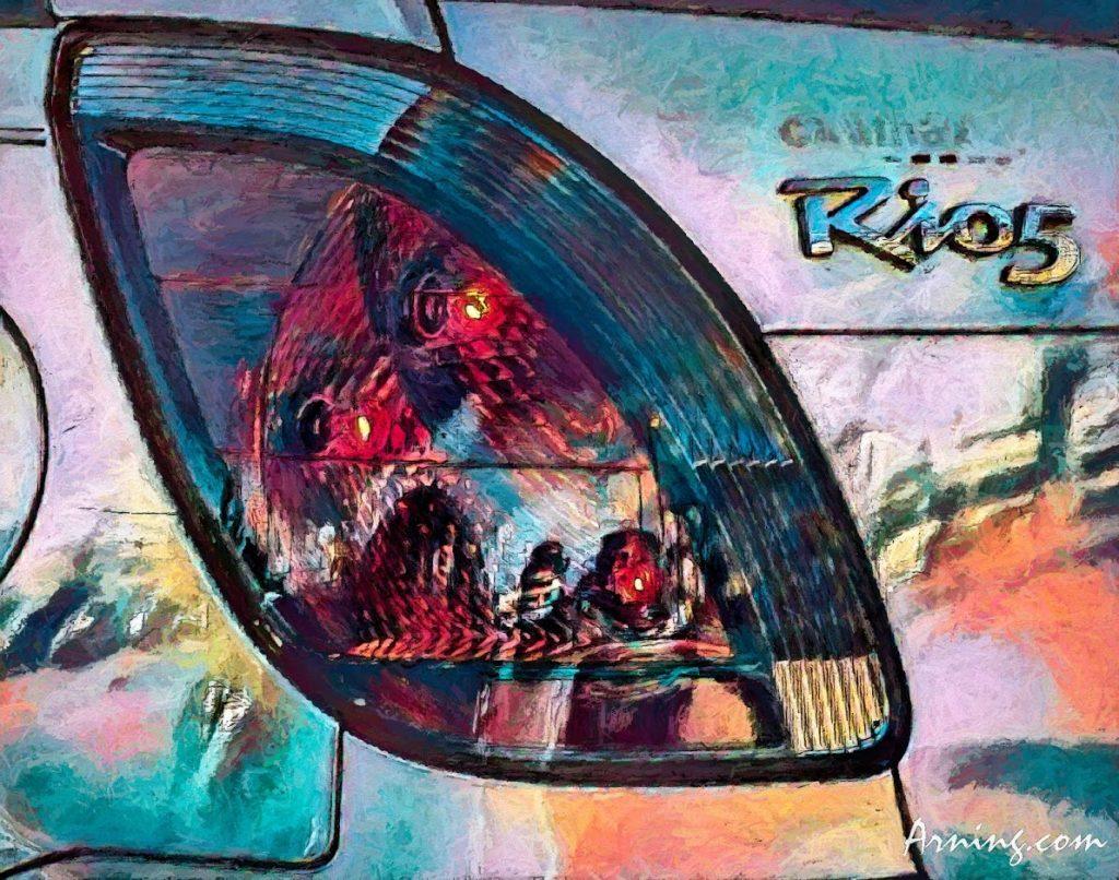 Rio 5 Tail light