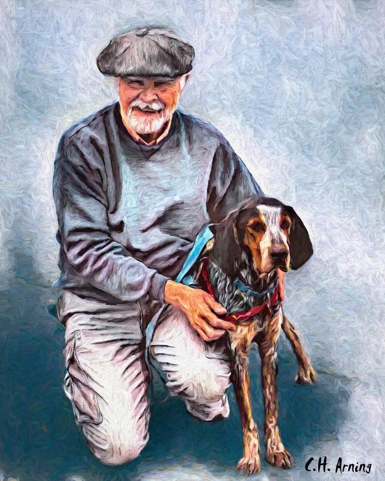 David's new hound