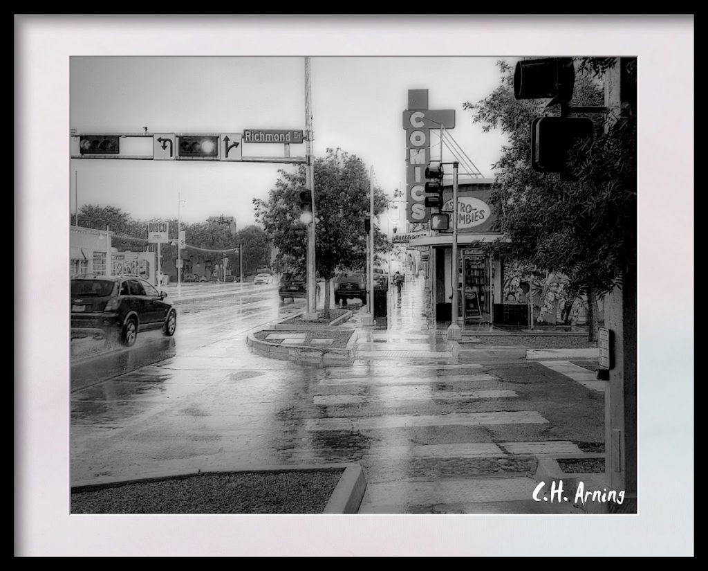 Rainy Day on Central